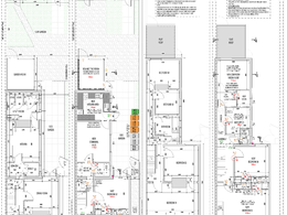 Produce building regulations application drawings