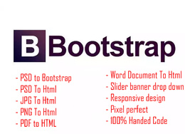 Convert psd to bootstrap