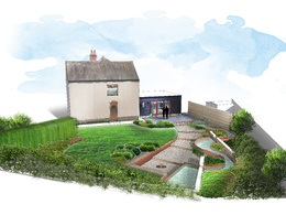 Deliver illustrations for your garden design/interior design project in one day!