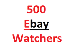 Create 500 safe ebay watchers for product ranking ebay seo
