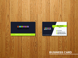 Design a professional business card with unlimited revisions in One Hour