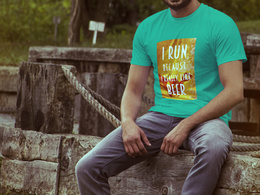 Tshirt design with print ready