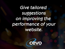 Give tailored suggestions how your can improve the peformance of your Website