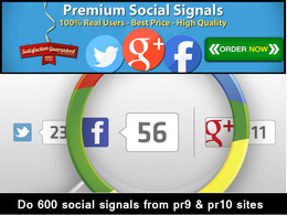 Do 600 social signals from pr9 & pr10 sites
