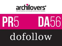 Publish a post on Architecture and Interior design blog DA63 & PR5