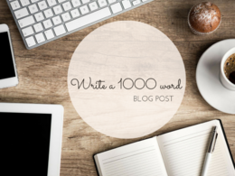 Write a 1000 word blog post or article