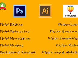 Do Photoshop & graphic work for you
