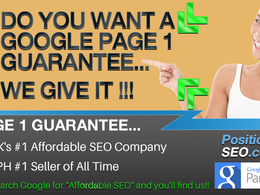Search Marketing - Google Page 1 Guaranteed - 1 White Hat SEO Phases