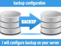 Configure a backup on your server in two hours
