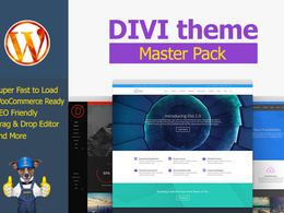 Wordpress website using Divi Theme