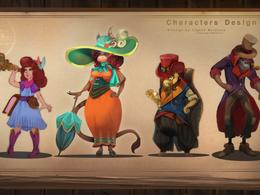 Make character  concept art