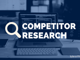 Research a Competitor's Digital Marketing