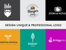 Design unique & professional logo