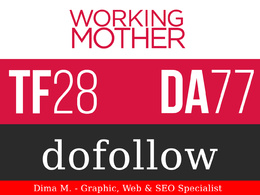 Publish Guest Post On WorkingMother.com - DA77, TF72