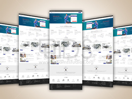 Premium Quality PSD/XD/Sketch Design for Website/Web app[1 page]