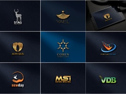 Make 2 professional high quality logo for your business + Source Files