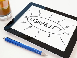 Usability test/ Review your website and provide a written report
