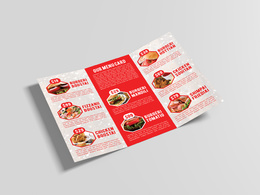 Design a Restaurant Food Menu Card