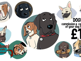Caricature your dog/cat/pet in a classic animation style