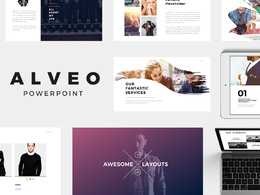 Deliver Alveo Powerpoint Template