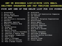 UK business database(s) - GDPR Compliant