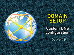 Configure custom DNS settings for a domain