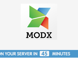 Install fresh MODX CMS on Ubuntu server in 45 minutes