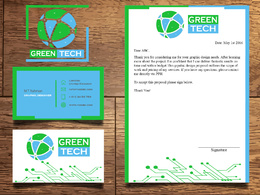 Design premium Logo + unlimited revisions + Letterhead + Business cards