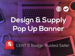 Design & Supply your Roller / Pop Up Banner