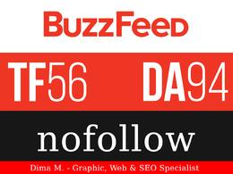 Write and Publish a Post on BuzzFeed.com - DA94, TF56