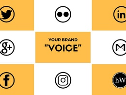 Characterise your social and blog content with a branded voice