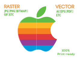 Redraw/Revise your logo in vector format