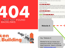 List Building for 404 Broken, Deep, Edu, Gov Link Building - Advance SEO Part