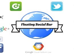 Add Floating Social Button Bar to WordPress