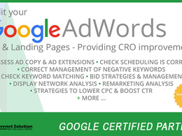Setup and Optimize your Google Adwords and PPC account