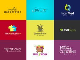 Design awesome logo design + sources file + revisions