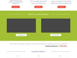 Design you a website mockup PSD