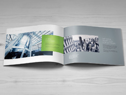 Design and write all the content for a landscape A4 brochure