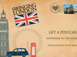 Send you postcard from anywhere in the world