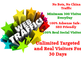 Bring Unlimited Real Keyword Targeted Website Visitors - Adsense SAFE Organic Traffic