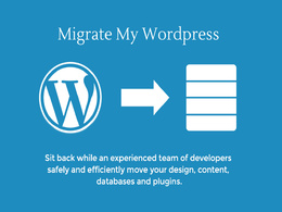 Migrate your HTML, PHP or WordPress site to new host or domain