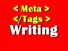 Write SEO Meta Tags for Website