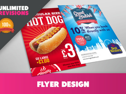 Design a poster or double sided flyer / leaflet