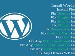 Fix wordpress issues , wordpress errors or wordpress problem