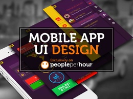Design mobile app screens / UI for mobile apps
