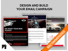 Build a bespoke email campaign » HTML, Campaign Monitor or MailChimp