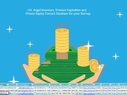 101 Angel Investors, Venture Capitalists and Private Equity Contact Database