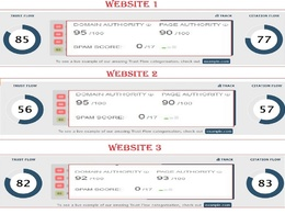 Rank Your Site with 3 High DA Authority Backlinks DAs 92-100