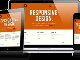 Make HTML website or wordpress website home page responsive