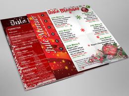 Design professional A4/A5 brochure, menu, catalogue